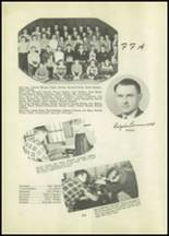 1951 Tipton High School Yearbook Page 40 & 41
