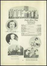 1951 Tipton High School Yearbook Page 44 & 45