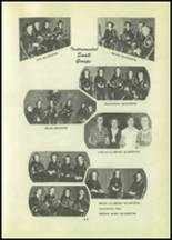 1951 Tipton High School Yearbook Page 54 & 55