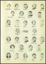 1951 Tipton High School Yearbook Page 62 & 63