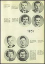 1951 Tipton High School Yearbook Page 66 & 67
