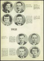 1951 Tipton High School Yearbook Page 68 & 69