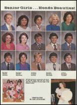 1984 Hondo High School Yearbook Page 22 & 23