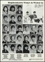 1984 Hondo High School Yearbook Page 44 & 45