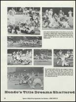 1984 Hondo High School Yearbook Page 62 & 63