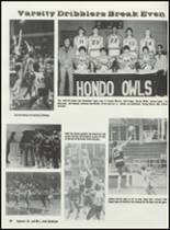 1984 Hondo High School Yearbook Page 72 & 73