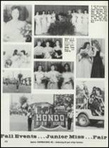 1984 Hondo High School Yearbook Page 124 & 125