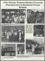1984 Hondo High School Yearbook Page 140 & 141