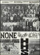 1984 Hondo High School Yearbook Page 156 & 157