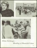 1972 Coldwater High School Yearbook Page 142 & 143