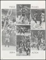 1982 Claremore High School Yearbook Page 142 & 143