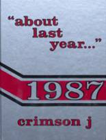 1987 Yearbook Jacksonville High School