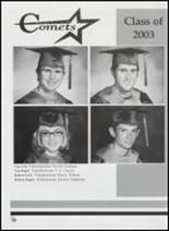 2003 Velma-Alma High School Yearbook Page 116 & 117