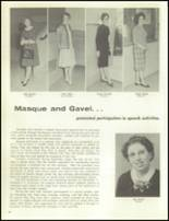 1961 Davis High School Yearbook Page 86 & 87