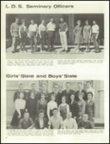 1961 Davis High School Yearbook Page 144 & 145
