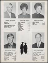 1971 Burlington High School Yearbook Page 14 & 15