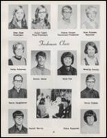 1971 Burlington High School Yearbook Page 24 & 25