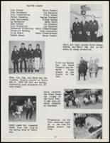 1971 Burlington High School Yearbook Page 42 & 43