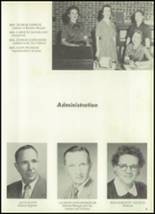 1961 Clear Creek High School Yearbook Page 12 & 13