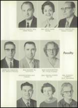 1961 Clear Creek High School Yearbook Page 14 & 15