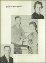 1961 Clear Creek High School Yearbook Page 20 & 21