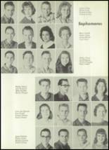 1961 Clear Creek High School Yearbook Page 44 & 45