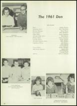 1961 Clear Creek High School Yearbook Page 70 & 71