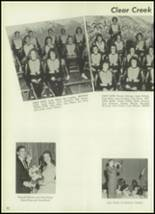 1961 Clear Creek High School Yearbook Page 76 & 77