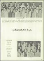 1961 Clear Creek High School Yearbook Page 82 & 83
