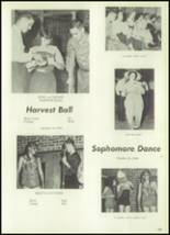 1961 Clear Creek High School Yearbook Page 126 & 127