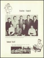 1952 Attica High School Yearbook Page 20 & 21