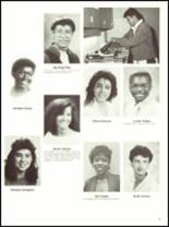 1987 Cambridge Rindge & Latin High School Yearbook Page 42 & 43