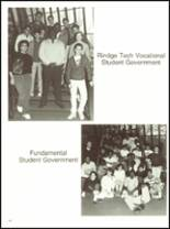 1987 Cambridge Rindge & Latin High School Yearbook Page 170 & 171