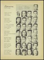 1946 Sanger High School Yearbook Page 34 & 35
