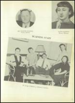 1954 Bourne High School Yearbook Page 10 & 11