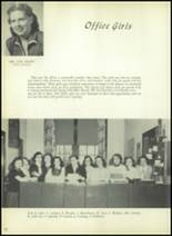 1954 Bourne High School Yearbook Page 16 & 17