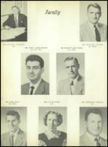 1954 Bourne High School Yearbook Page 18 & 19