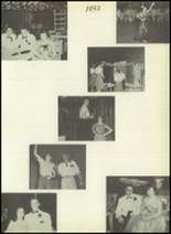 1954 Bourne High School Yearbook Page 30 & 31