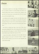 1954 Bourne High School Yearbook Page 54 & 55