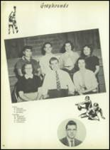 1954 Bourne High School Yearbook Page 70 & 71