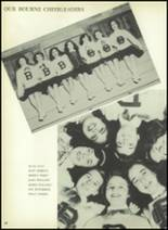 1954 Bourne High School Yearbook Page 72 & 73