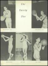 1954 Bourne High School Yearbook Page 82 & 83