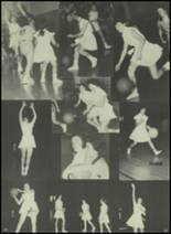 1954 Bourne High School Yearbook Page 86 & 87