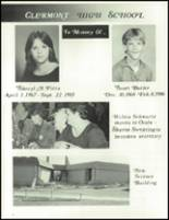 1986 Clermont High School Yearbook Page 56 & 57