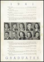 1941 North Little Rock High School Yearbook Page 20 & 21