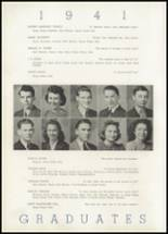 1941 North Little Rock High School Yearbook Page 24 & 25