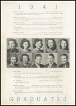 1941 North Little Rock High School Yearbook Page 40 & 41