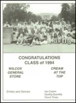 1994 Southern Cayuga Central High School Yearbook Page 160 & 161