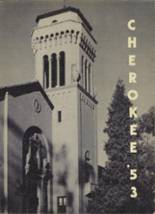 1953 Yearbook Sequoia High School