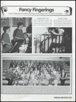 2001 Clyde High School Yearbook Page 132 & 133